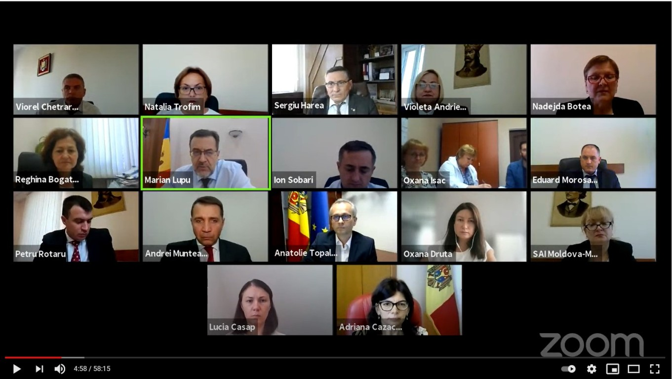 On September 10, the Court of Accounts of the Republic of Moldova (CoARM) examined during an online meeting, the Audit Report of the financial reports of the Project